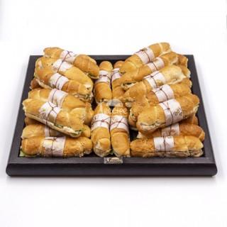 مینی ساندویچ مرغ و جعفری