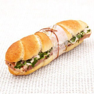 مینی ساندویچ ژامبون و جعفری (10 عددی)