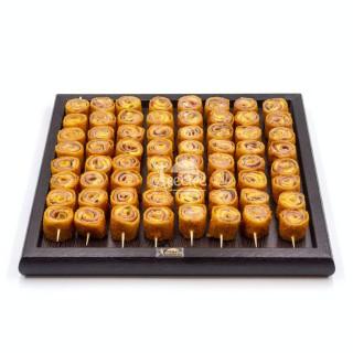 رول ژامبون با پنیر