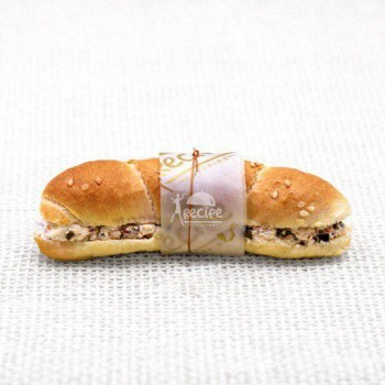 مینی ساندویچ پنیر و سبزیجات (30 عددی)