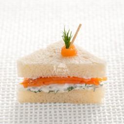 تی ساندویچ سلمن دودی (10 عددی)
