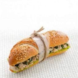 مینی ساندویچ مرغ و جعفری (10 عددی)