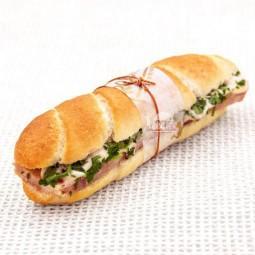 مینی ساندویچ ژامبون و جعفری (25 عددی)
