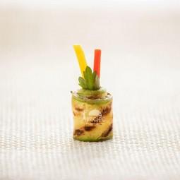 رول کدو و سبزیجات (10 عددی)