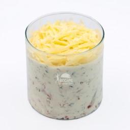 دیپ پنیر و سبزیجات